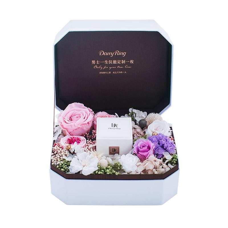 DR爱的礼物 DARRY RING系列 ROMANTIC 永生花盒 秘密花园