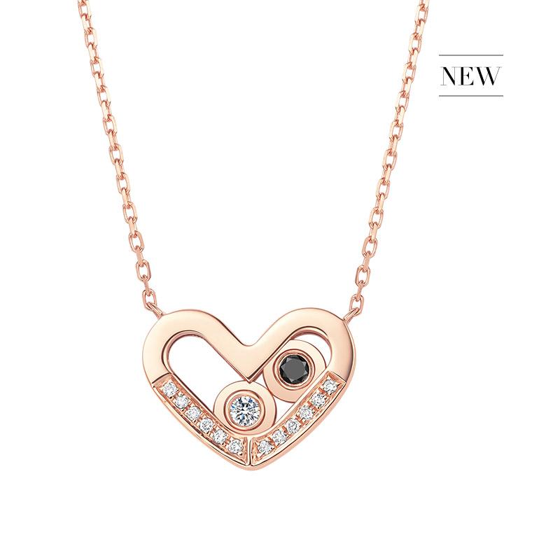 DR爱的礼物 SWEETY系列 在一起 心形套链