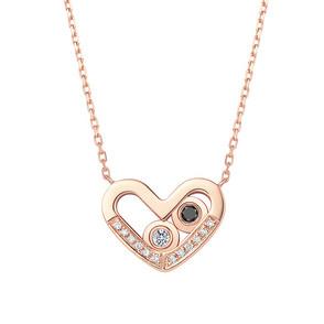 DR爱的礼物 SWEETIE系列 在一起 心形套链