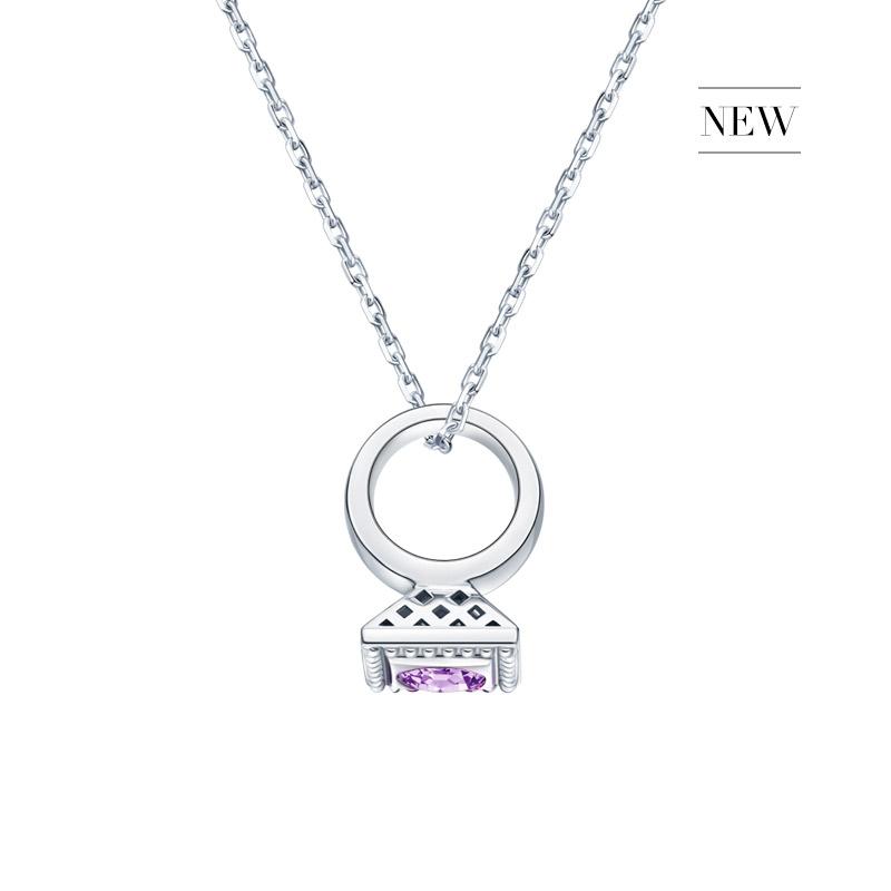 DR爱的礼物 BABY RING系列 DR PARIS 52°-天秤座(紫水晶)