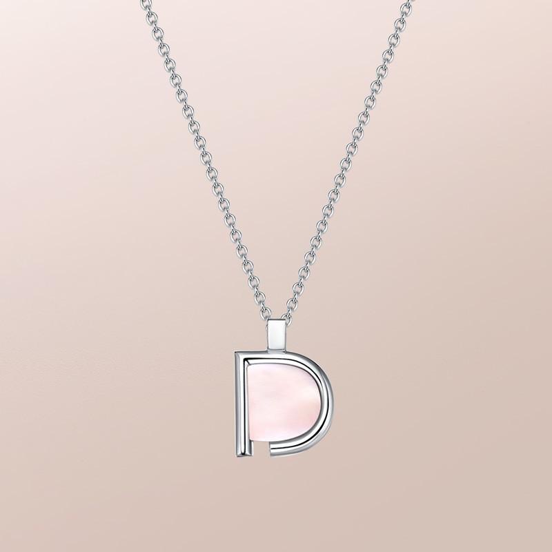 DR愛的禮物 D-DESTINY系列 純愛款 套鏈(粉貝) 套鏈