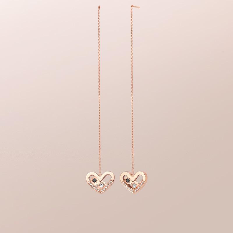 DR愛的禮物 SWEETIE系列 在一起 心形 耳飾