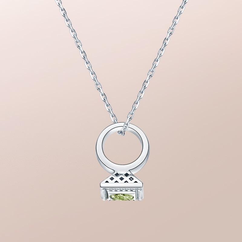 DR愛的禮物 BABY RING系列 DR PARIS 52°-摩羯座(橄欖石) 套鏈