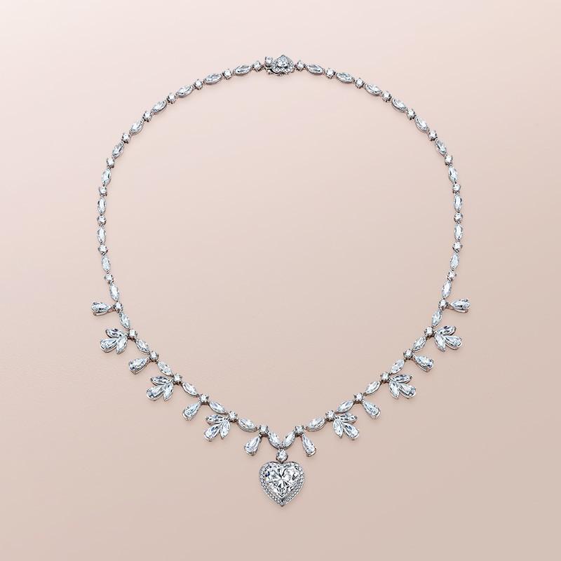 DR爱的礼物 MY HEART系列 永恒之心 钻石项链