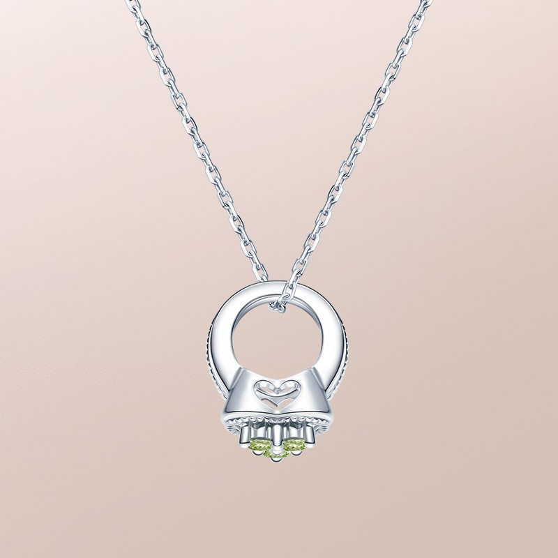 DR爱的礼物 BABY RING系列 MY HEART-摩羯座(橄榄石) 套链