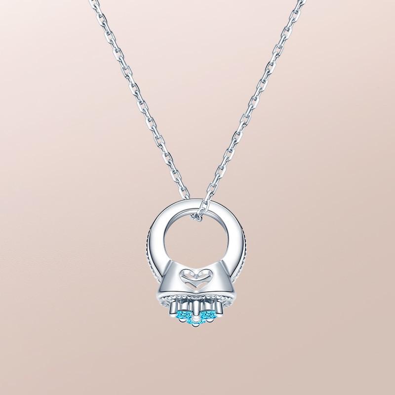 DR爱的礼物 BABY RING系列 MY HEART-双鱼座(托帕石) 套链