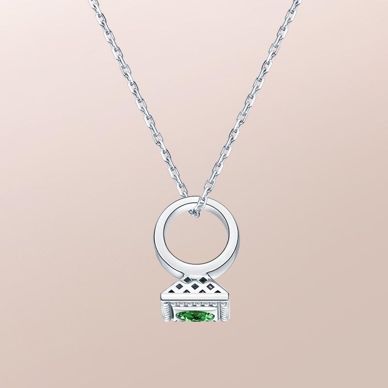 DR爱的礼物 BABY RING系列 DR PARIS 52°-射手座(沙弗萊) 套链