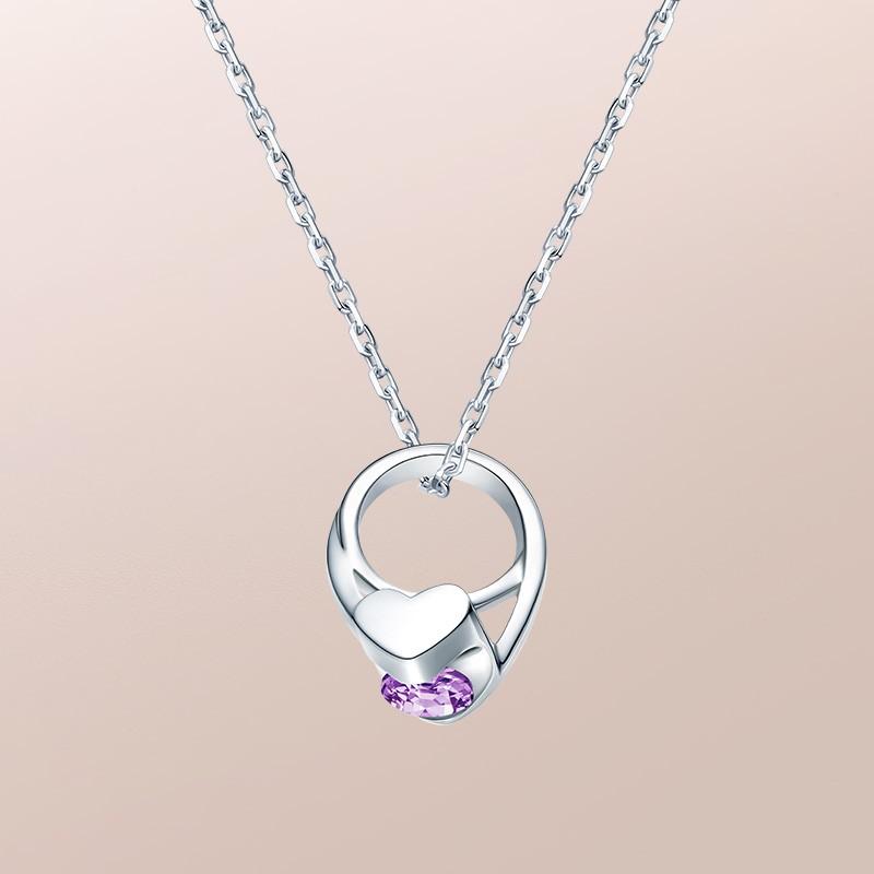 DR爱的礼物 BABY RING系列 JUST YOU-天秤座(紫水晶)套链