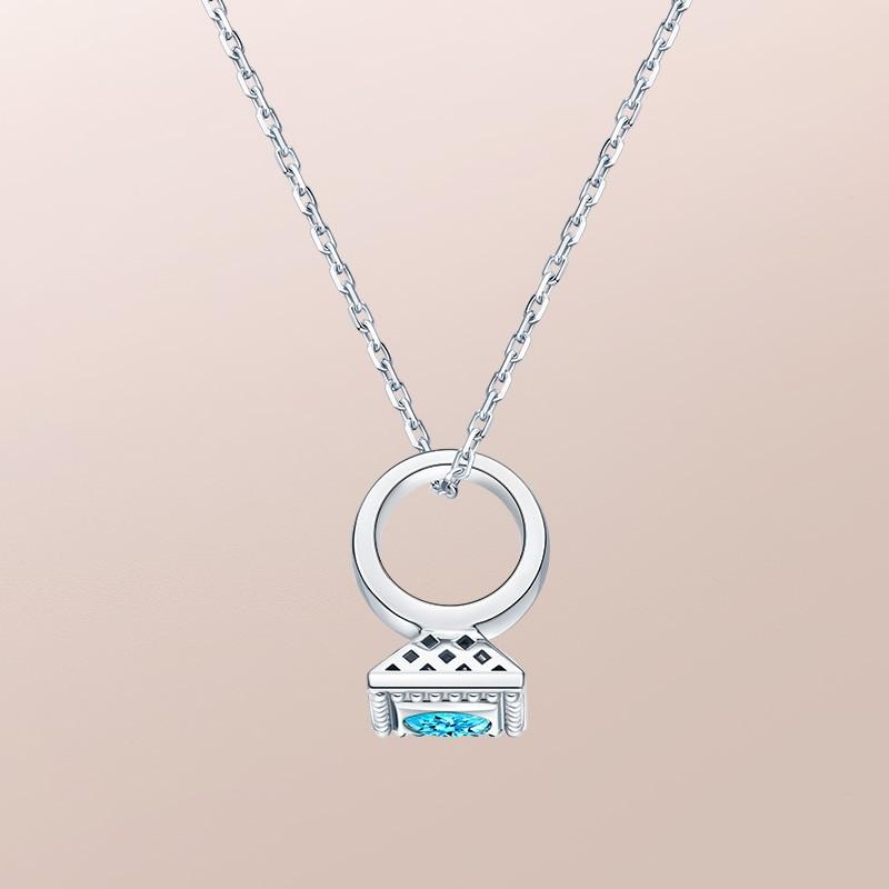 DR爱的礼物 BABY RING系列 DR PARIS 52°-双鱼座(托帕石) 套链