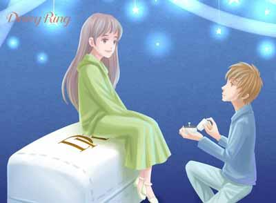 浪漫而又深情的求婚词