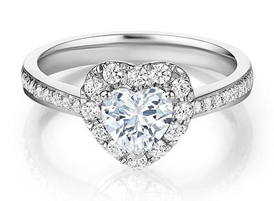 DR真爱永恒钻石戒指70分多少钱