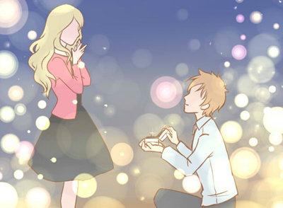 情人节用什么方式求婚