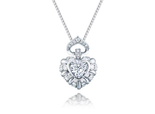 两克拉钻石吊坠多少钱