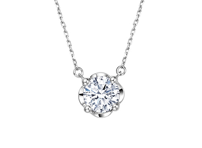 钻石项链价钱