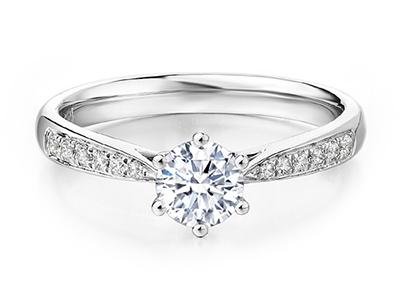 一克拉菱形的戒指要多少钱才可以买到