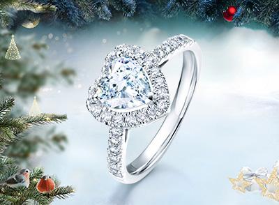 圣诞节礼物,DR钻戒为你打造一套浪漫的圣诞礼物_品牌钻石价格表